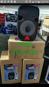 black and gray portable speaker Bakersfield, 93313