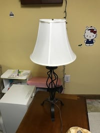 white and black table lamp North Chelmsford, 01863