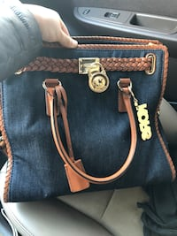 black Michael Kors leather 2-way bag Rochester Hills, 48307