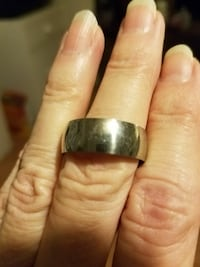 Silver stainless steel ring size 9.5 Salt Lake City, 84120
