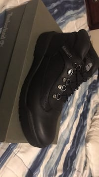 pair of black Timberland work boots Grand Rapids, 49503