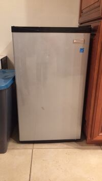 Used Grey Personal Refrigerator For Sale In Huntington