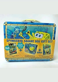 SpongeBob Square Box Gift Set - BRAND NEW with DVD