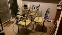 dining table n chairs Harrison charter Township