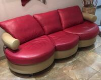 Leather sofa and chair  Vaughan, L4L 7G4