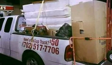 PICK UP & DELIVERY ALSO JUNK REMOVAL SERVICE!