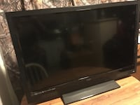 Black flat screen tv without remote