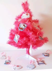 Mini Sapin rose Hello Kitty + 12 décorations H.K. Tourcoing, 59200