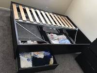 IKEA double bed frame and dresser Hockessin, 19707