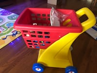 Littletikes shopping cart toddler  toy Boyds, 20841