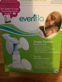 Evenflo double electric breast pump box New York, 10304