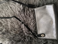 gray and black leather crossbody bag Calgary, T2H