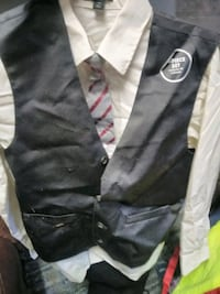 black and gray button-up jacket Martinsville, 46151