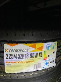 4 all season tires brand new size 225/45/r18 installation and balance Toronto, M9W 6T5