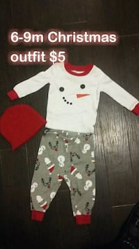 6-9m Christmas outfit  Selma, 93662