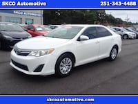 2013 Toyota Camry WHITE Mobile, 36608