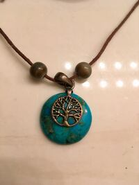Turquoise Tree of Life Necklace Virginia Beach, 23462
