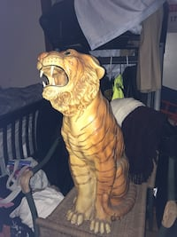 Antique tiger great for front entrance  Beacon, 12508