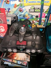 black n64 one controller