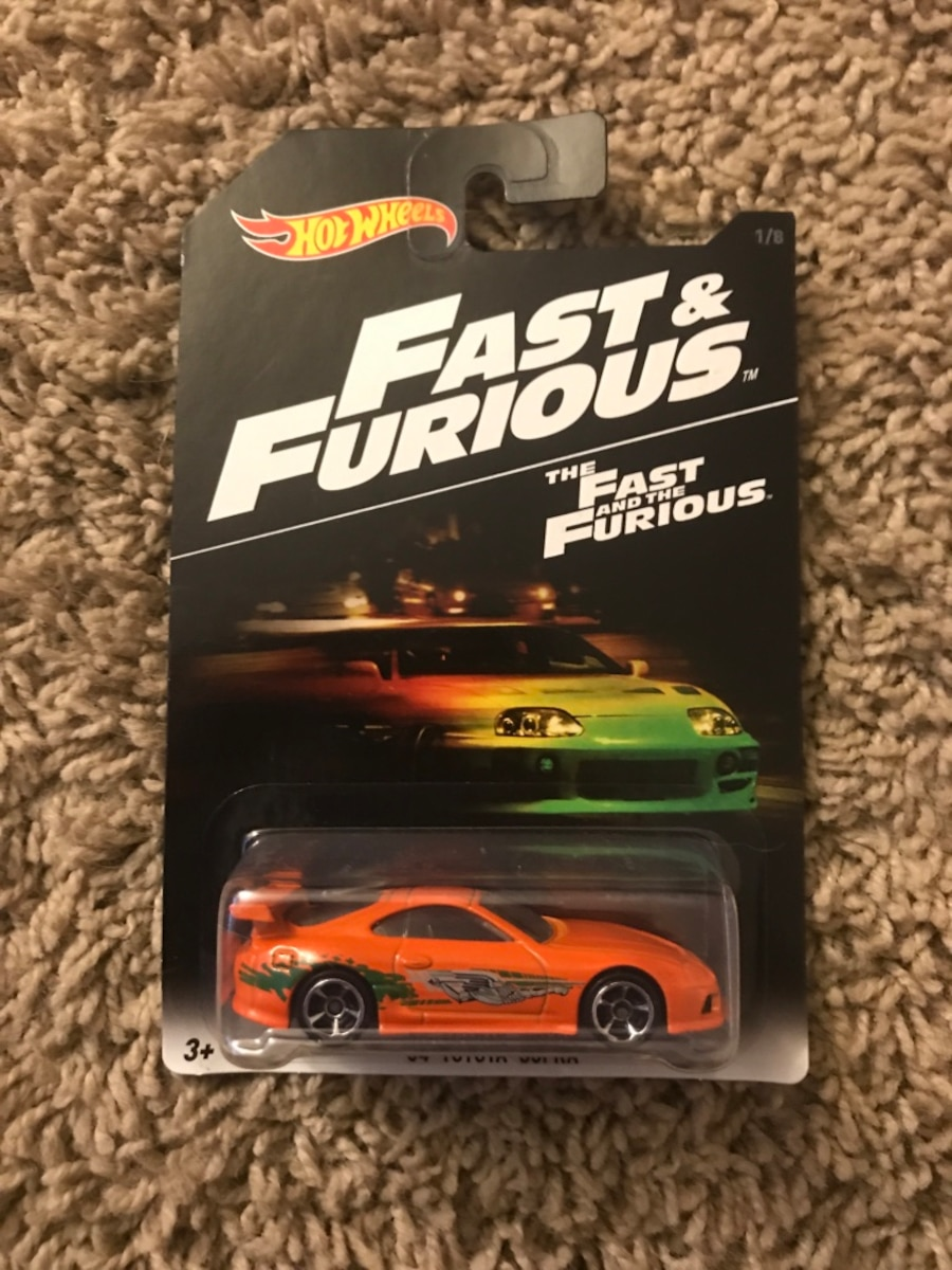 Fast and furious hot wheels, $5 a piece - $35