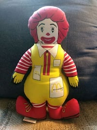 Ronald McDonald plush Stafford, 22554