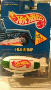 Hot Wheel 1991 Fuji Blimp
