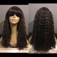 Full Wig - Synthetic Hair Toronto, M9R 2A6