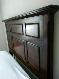 brown wooden cabinet with mirror Dallas, 75211