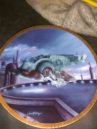 Star Wars Slave 1 Collector Plate Albuquerque, 87109