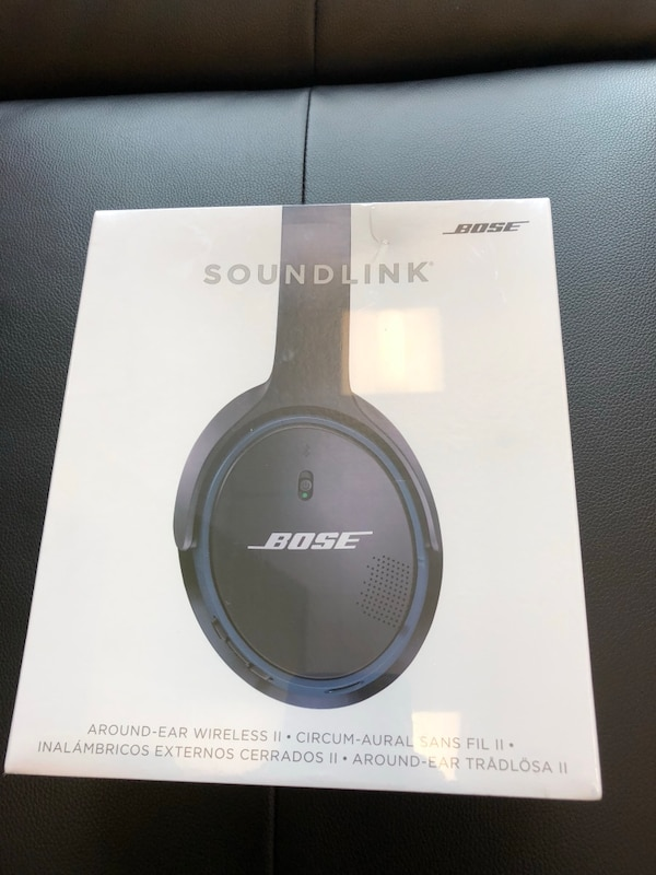 Bose wireless Soundlink headphones