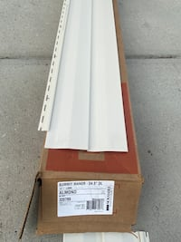 Siding replacement pieces almond