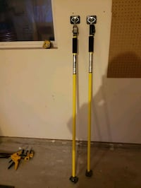 Drywall pole supports for sale