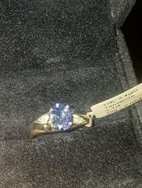 10k white gold engagement ring with oval tanzanite Barrie, L4N 8V4