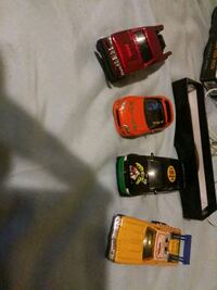 three red and black car die-cast models Township of Taylorsville, 28681