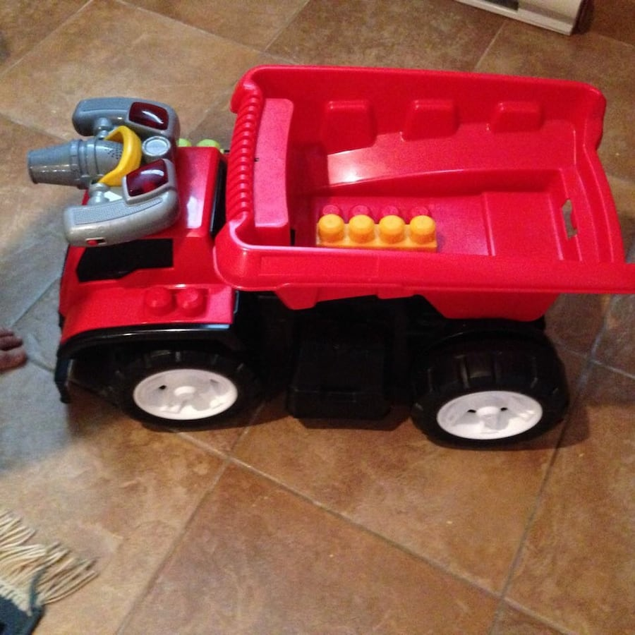 Firefighters toy truck