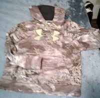 UNDER ARMOR camo hoodie Grand Junction