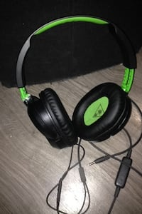 green and black Turtle Beach corded headphones Regina, S4T 1Y7