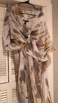 Women's brown and cream Cover up Tupelo