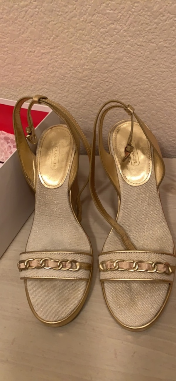 3ec36a7c5374 Used Coach shoes size 10 for sale in Antioch - letgo