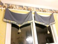 3 Valance set includes wood rods and holders Lawrenceville, 30043