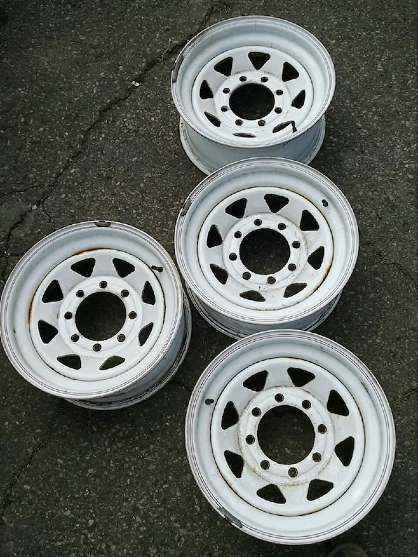 Steel Wheels For Sale >> Used 16 Inch X7 8lug Steel Wheels For Sale In Mount Carmel Letgo