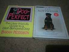 Dog Perfect by Sarah Hodgson; The Rottweiler by Tracy Libby