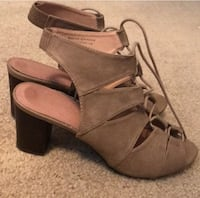 Lace up summer booties- size 9.5 Arlington, 22201