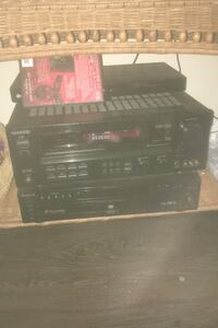 Stereo system( kenwood) and Sony 5 disk changer