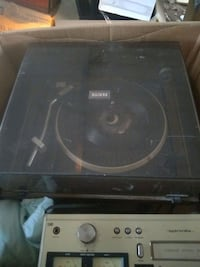 vintage Zenith record player