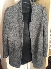 New Zara Long Overcoat Sz S (Women)