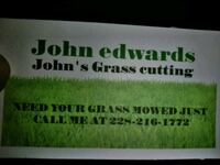 Lawn mowing Gulfport