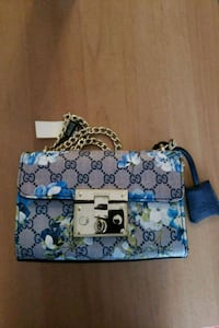 blue and white floral tote bag Brooklyn, 11214