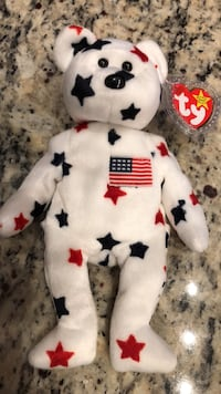 TY very rare Glory the Americans bear excellent condition  Macedonia, 44056
