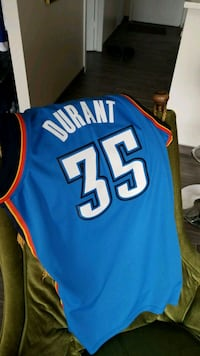 Kevin Durant Authentic OKC Jersey Calgary, T2R 0A2